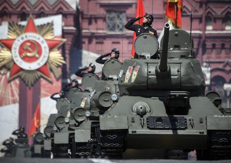 Putin conmemora la victoria soviética contra el nazismo en la Segunda Guerra Mundial