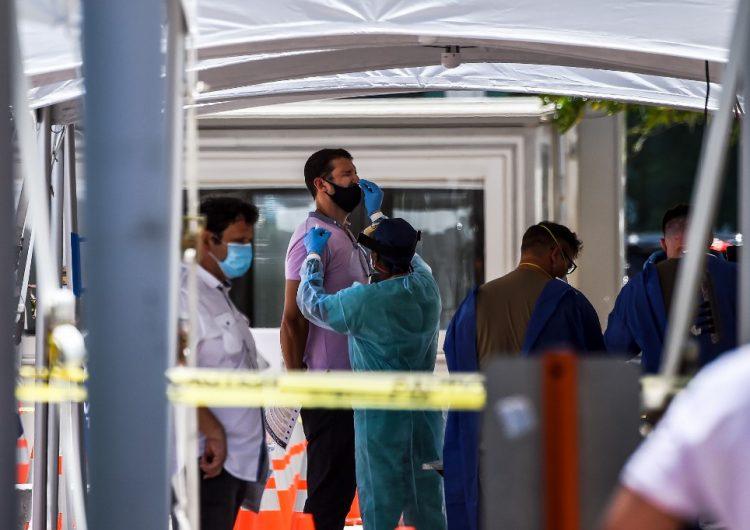 Estados Unidos registra un nuevo repunte de contagios de COVID-19
