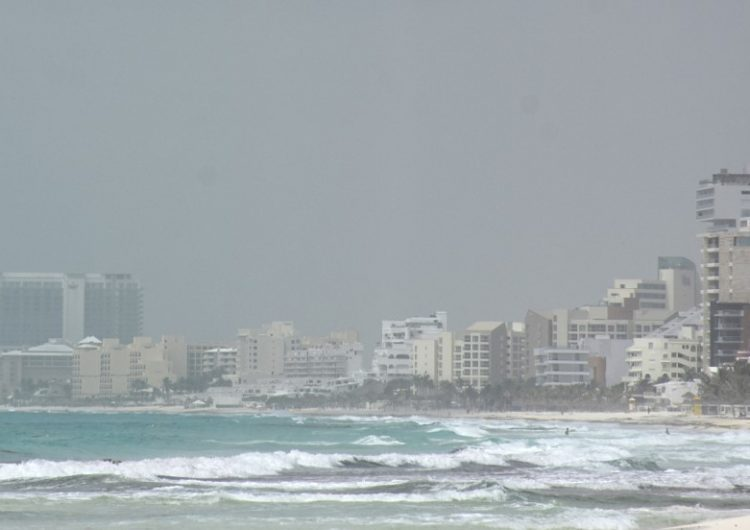 La inusual masa de polvo del Sáhara sobre el Caribe llega al Pacífico
