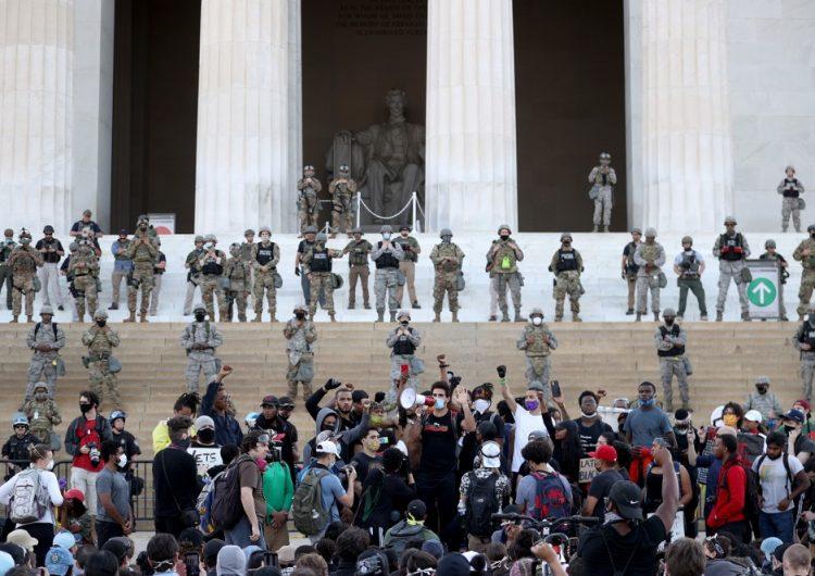 Detectan COVID-19 en elementos de la Guardia Nacional desplegados en protestas de Washington