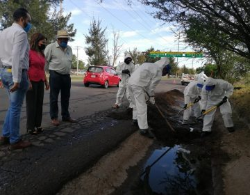 Realizan brigada de limpieza preventiva a lluvias en el municipio de Aguascalientes