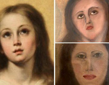 Otra pintura echada a perder, he aquí cómo no desfigurar el arte con una restauración