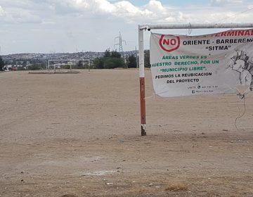 Blinda gobierno terreno para terminal oriente de camiones urbanos