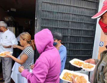 Alquiladora en Puebla dona 150 paquetes de comida
