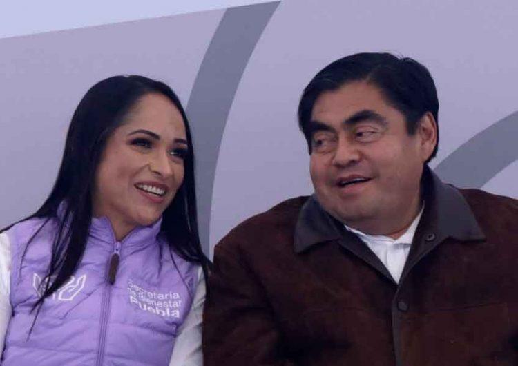 Aplican pruebas Covid a secretarios Puebla; Lizeth Sánchez de Bienestar da positivo