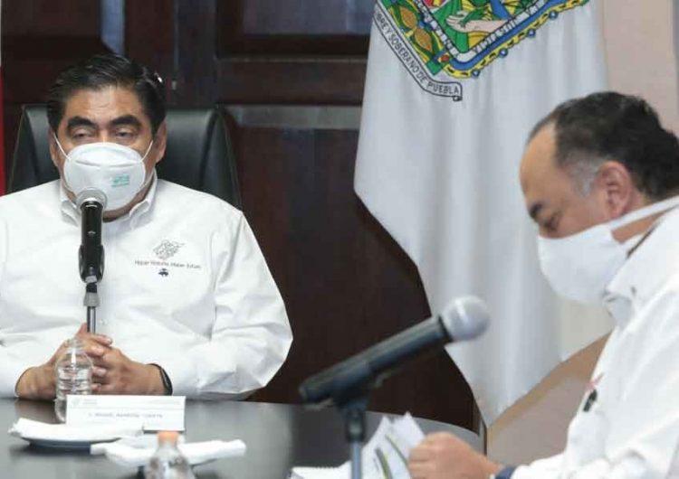 Barbosa pide un esfuerzo final de todos los sectores de Puebla para aguantar confinamiento