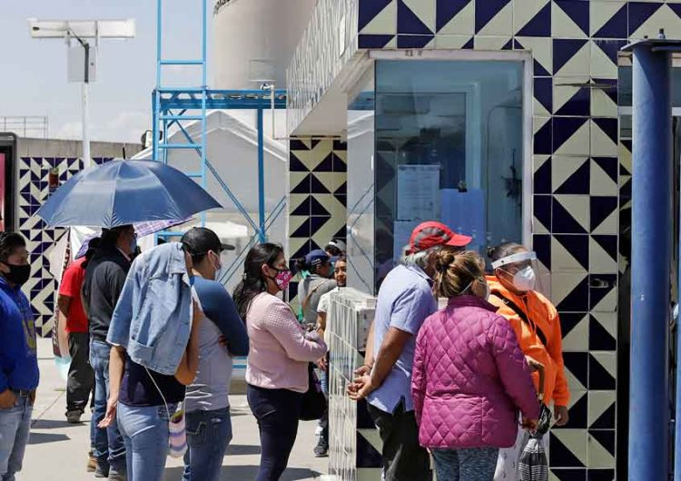 Burócratas  del gobierno de Puebla contagiados con coronavirus