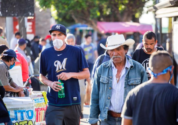 """Inicia la """"nueva normalidad"""" en Tijuana con semáforo en rojo"""