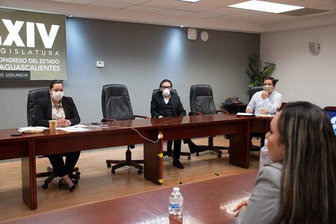 Concluye Comisión de Vigilancia entrevistas con aspirantes al OSFAGS