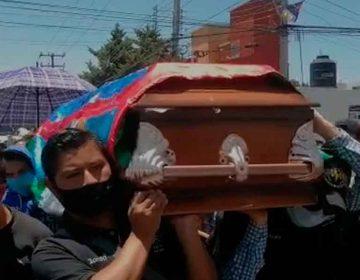 EL BARRIO LO RESPALDA. Así despiden a Miguel Martínez del Sonido Samurai en Puebla