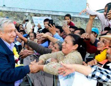 En Puebla y San Pedro Cholula la gira de AMLO