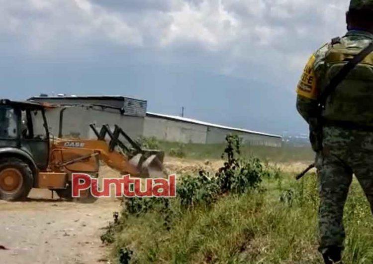 Huachitúnel en Puebla permitía extraer miles de litros de combustible