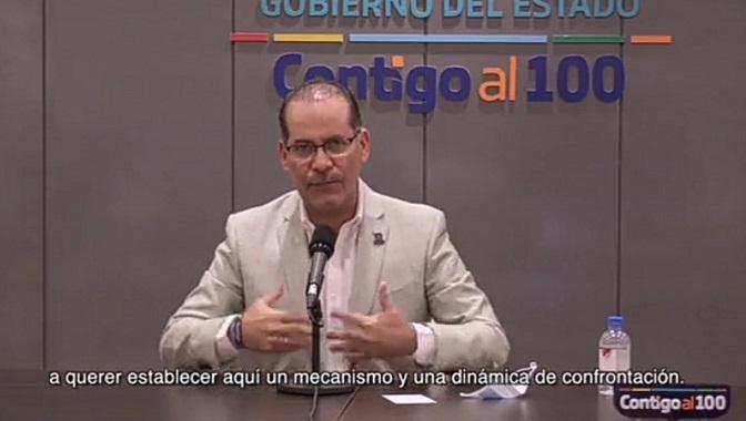 Señala gobernador a CATEM de irrumpir paz laboral en Aguascalientes