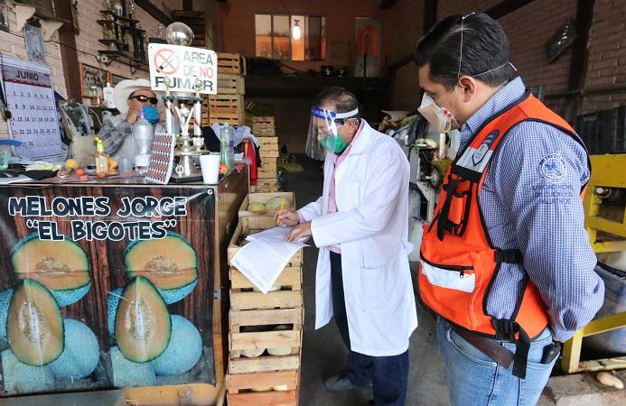 Suspende Guardia Sanitaria cuatro locales comerciales del Agropecuario