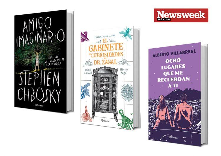 Misterio, curiosidades y amor en tres libros