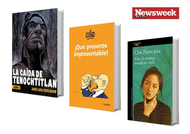 Tres libros: José Luis Pescador, Quino, Cho Nam-joo