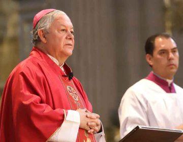 Misas presenciales será de manera paulatina: arzobispo