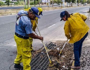 Realizan limpieza preventiva por temporada de lluvias en Calvillo