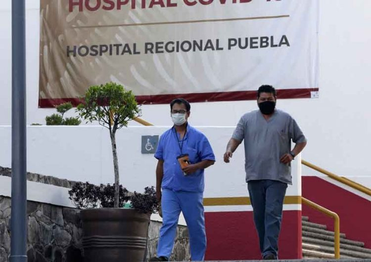Mueren 16 profesionales de la salud por coronavirus en Puebla