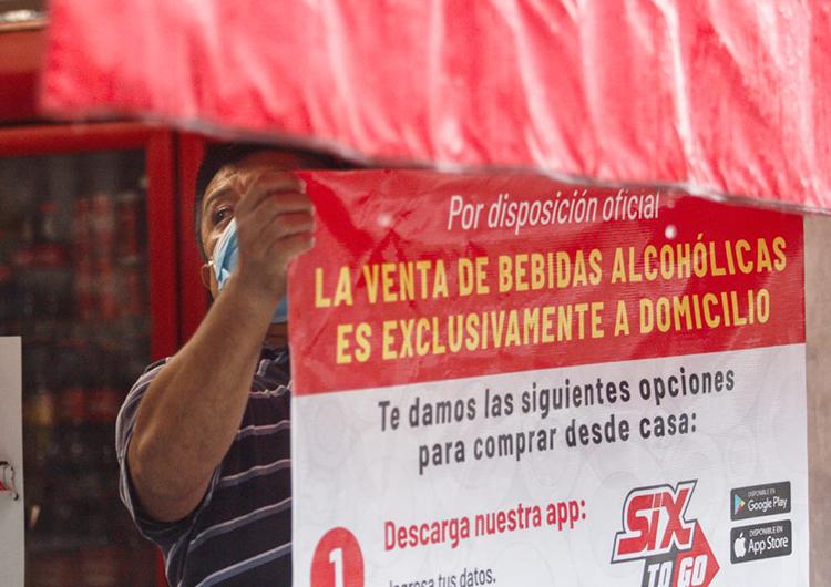 Levantan Ley Seca en Yucatán, solo hay venta a domicilio