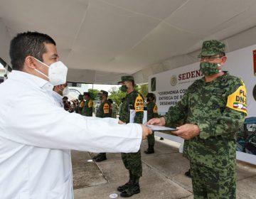 Reconoce Ejército valor y entrega en Plan D-N-III-E