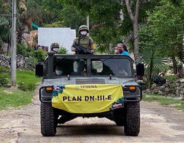 Moviliza Ejército personal frente a las intensas lluvias (Galería)