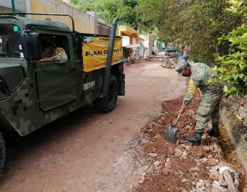 Mantiene Ejército Pllan DN-III-E Ayudando a poblados inundados