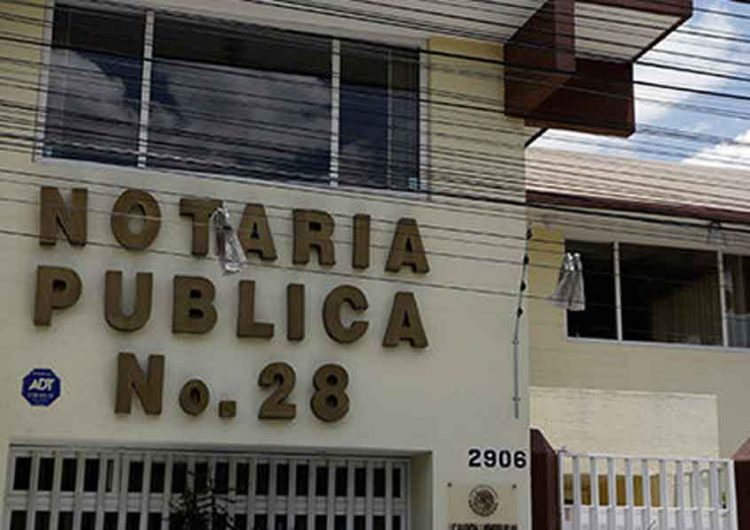 Procederán  contra 12 notarios por uso de documentación falsa en Puebla