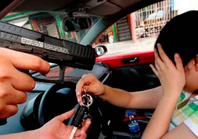 Puebla es tercer lugar a nivel nacional en robo de autos con violencia