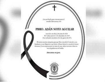 Suman 7 sacerdotes fallecidos por Covid-19 en Puebla