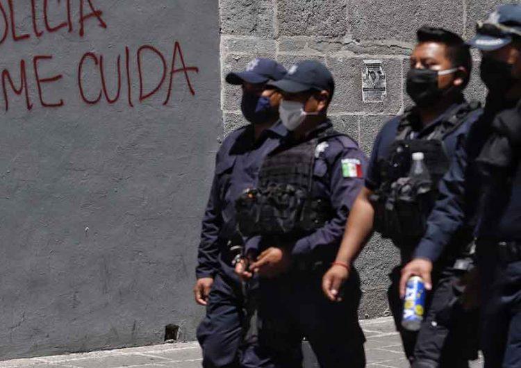 Tras larga protesta policías de Puebla logran incremento salarial del 20 %