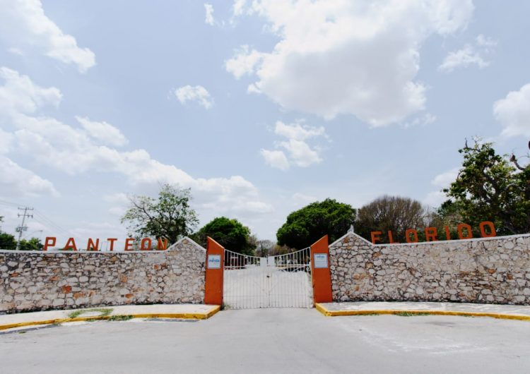 No abren panteones este domingo en Mérida para evitar contagios