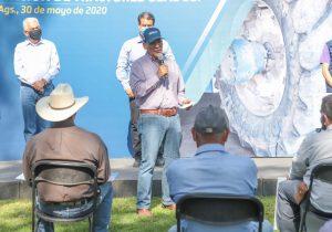 No suspenderá gobernador de Aguascalientes giras de trabajo por Covid-19