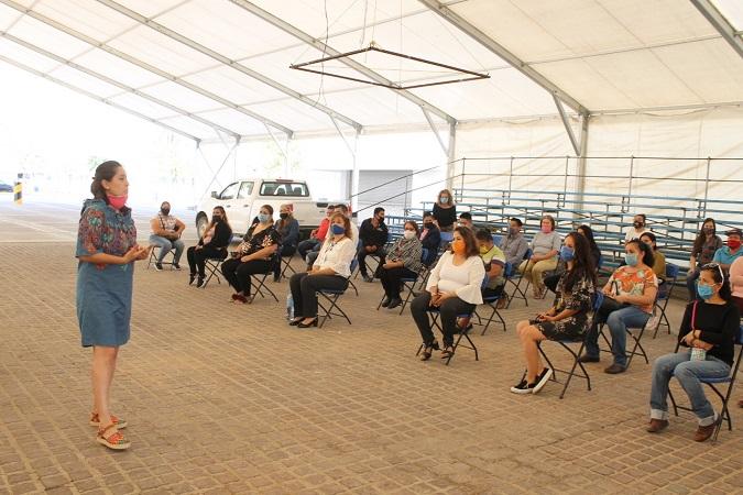 Brinda DIF Municipal de Jesús María apoyo emocional a trabajadores