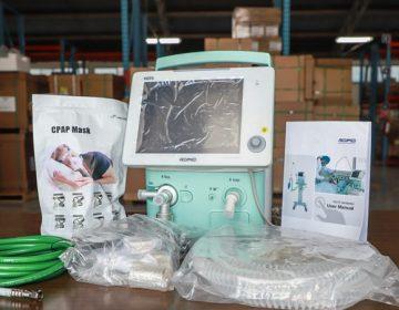 Recibe Aguascalientes 30 respiradores artificiales del gobierno federal