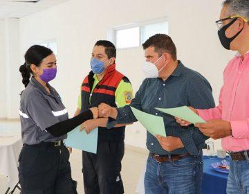 Reconocen labor de paramédicos en Calvillo