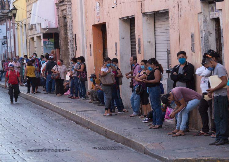México perdió 344,526 empleos en mayo como consecuencia de la pandemia de COVID-19