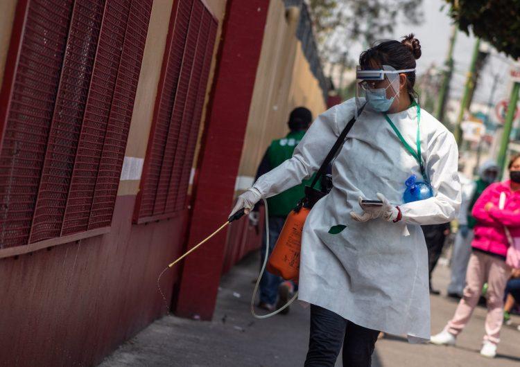 Mueren más de 19,000 personas por COVID-19 en México; suman 4,930 casos