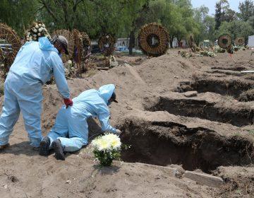 México confirma 18,310 defunciones por COVID-19; 463 corresponden a profesionales de la salud