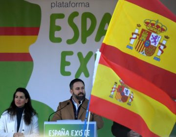 Líder del partido español Vox copia parte de un discurso de Trump