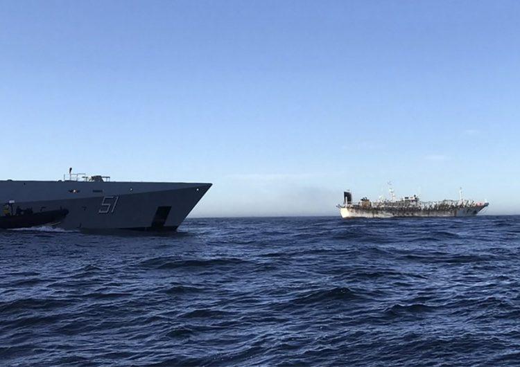 Argentina: Reportan 57 casos de COVID en barco que pasó un mes en el mar