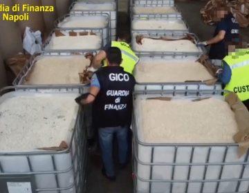 Policía de Italia hace la incautación más grande de anfetaminas a nivel mundial