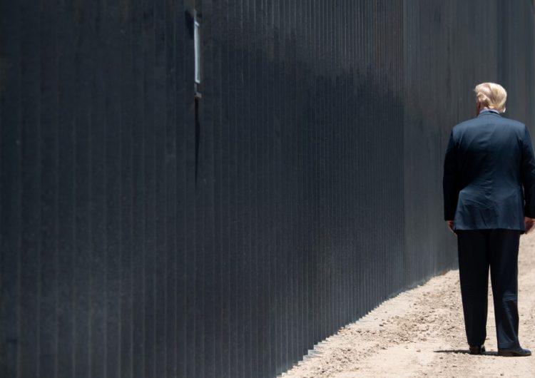 Para cumplir su promesa de campaña en 2020, Trump tendría que construir casi 2 km de muro fronterizo… cada día