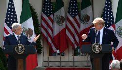 """""""La relación con México jamás había sido tan estrecha"""": Trump"""