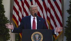 Trump asegura que en 2021 el muro fronterizo estará terminado…