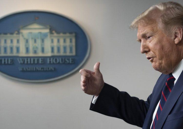 """El coronavirus en EU """"va a empeorar antes de que haya una mejora"""", advierte Trump"""
