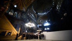 Turquía convertirá la antigua basílica de Santa Sofía de un…