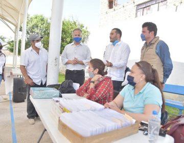Entregan Secretaría del Bienestar y municipio de Jesús María apoyos a adultos mayores