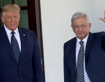 AMLO y Trump inician su primera reunión en la Casa Blanca unidos por el T-MEC