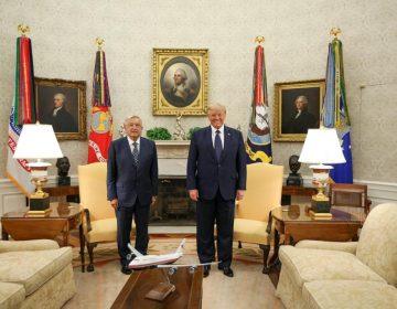 Galería: AMLO se reúne con Trump luego de depositar ofrendas a Lincoln y a Juárez